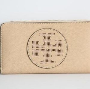 Tory Burch Perforated Wallet